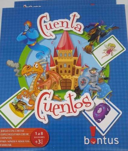 juego de mesa cuenta cuentos bontus para llevar july toys