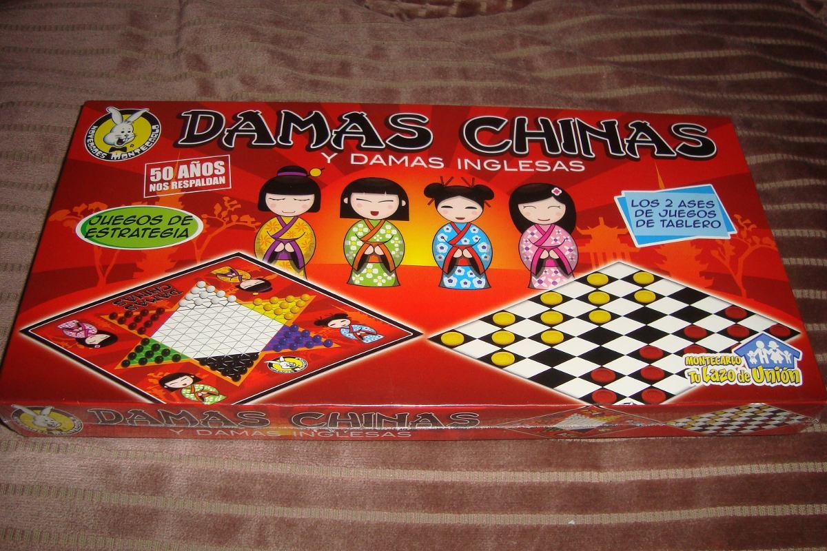 juego de mesa damas chinas y damas inglesas en