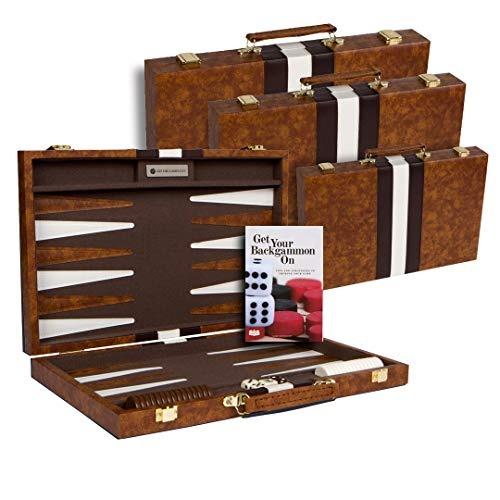 Juego De Mesa De Backgammon Con Estuche Disponible En Tama
