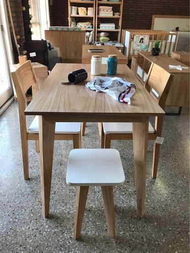 juego de mesa de comedor estilo nórdico escandinavo vuledeco