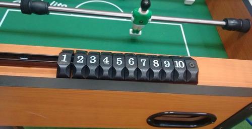 juego de mesa de futbolito 51 x 93 x 70 cm