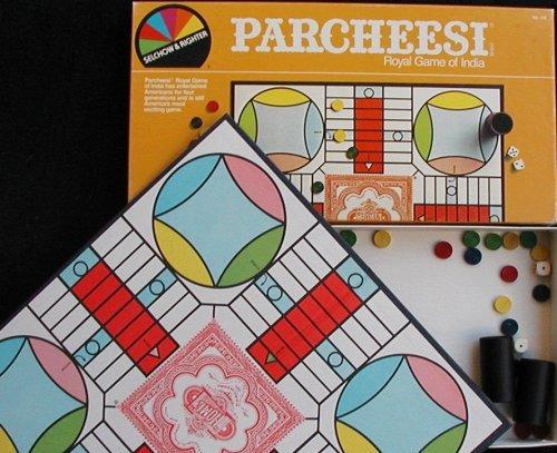 juego de mesa de parchís edición de 1982