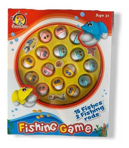 juego de mesa de pesca tipo pescamagic