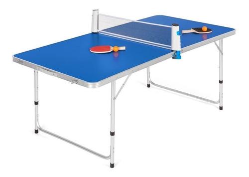 juego de mesa de ping-pong plegable y pórtatil
