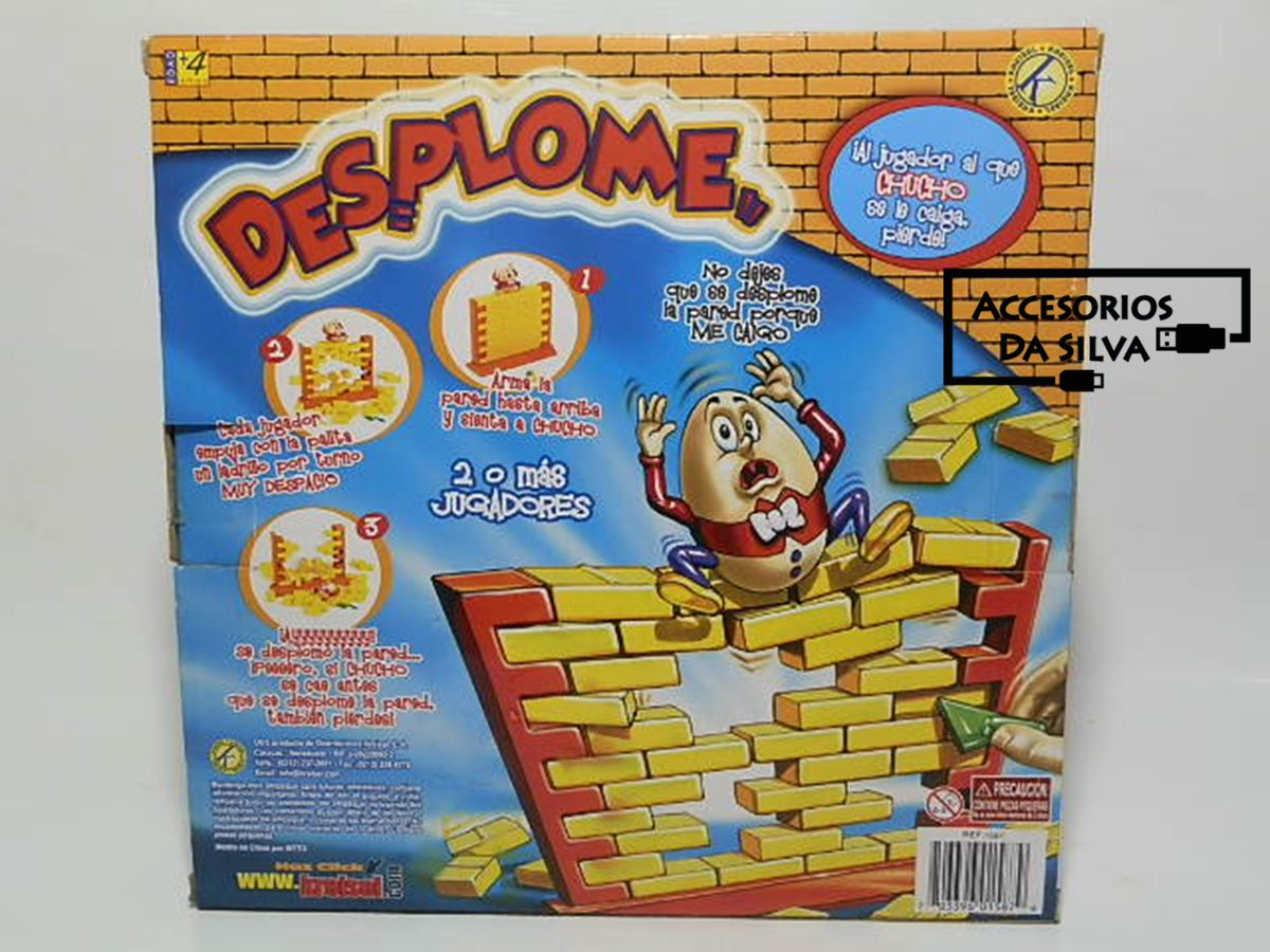 Juego De Mesa Desplome Original Kreisel Jenga Garantia Bs 10 00