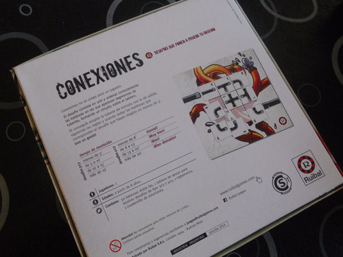 juego de mesa didacto/ingenio - conexiones