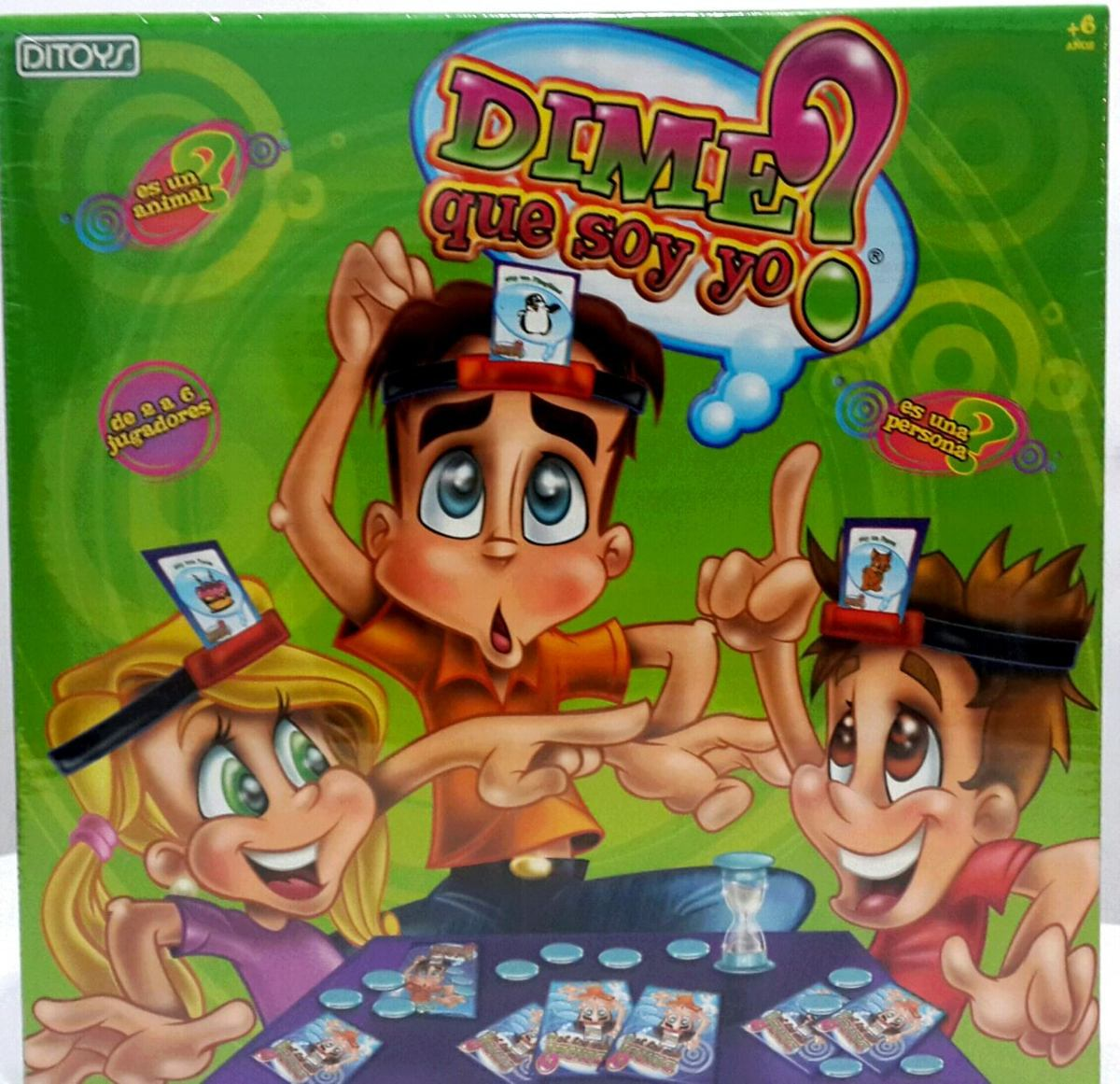 Juego De Mesa Dime Quien Soy Original De Ditoys Ramos Mejia 599