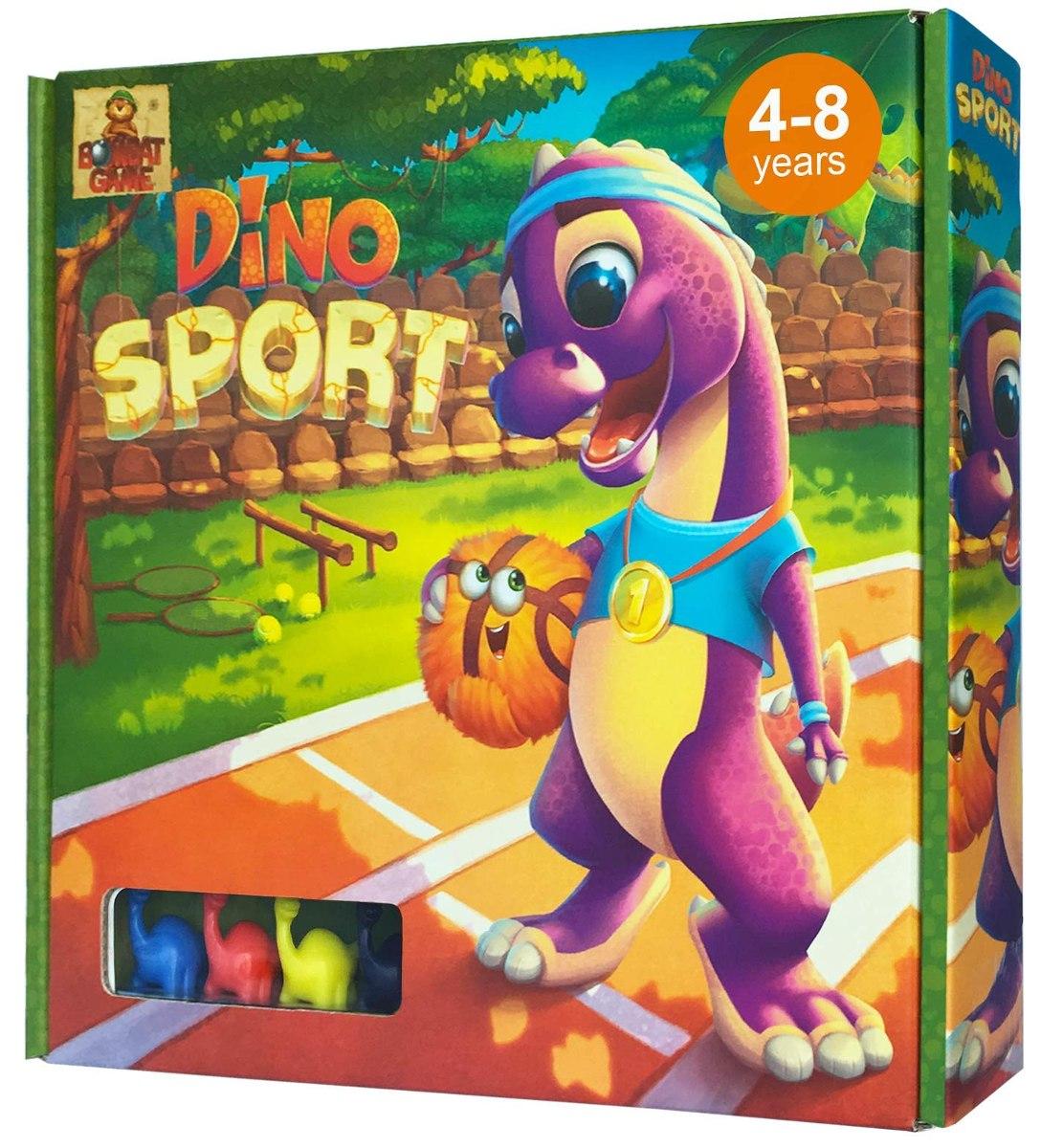 Juego De Mesa Dino Sport Race Para Ninos De 4 Anos En Ade