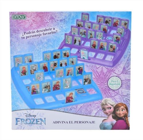 juego de mesa disney adivina el personaje de frozen ditoys