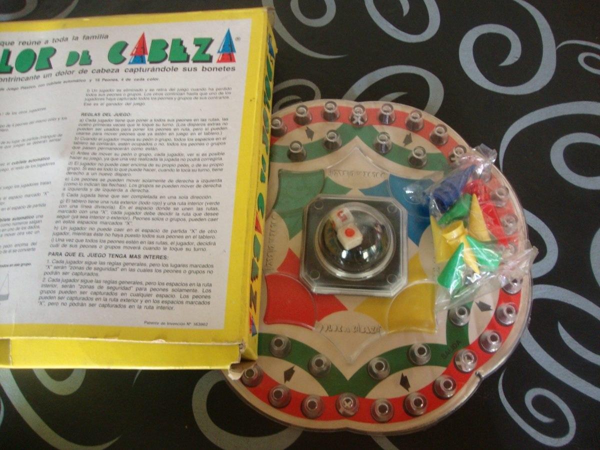 Juego De Mesa Dolor De Cabeza Cubilete Automatico Retro Kxz 850