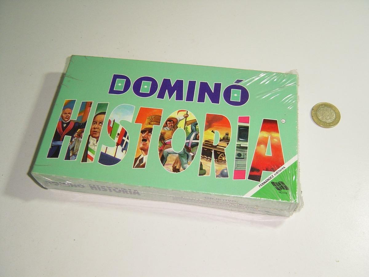 Juego De Mesa Domino Historia De Fernandez Editores 225 00 En