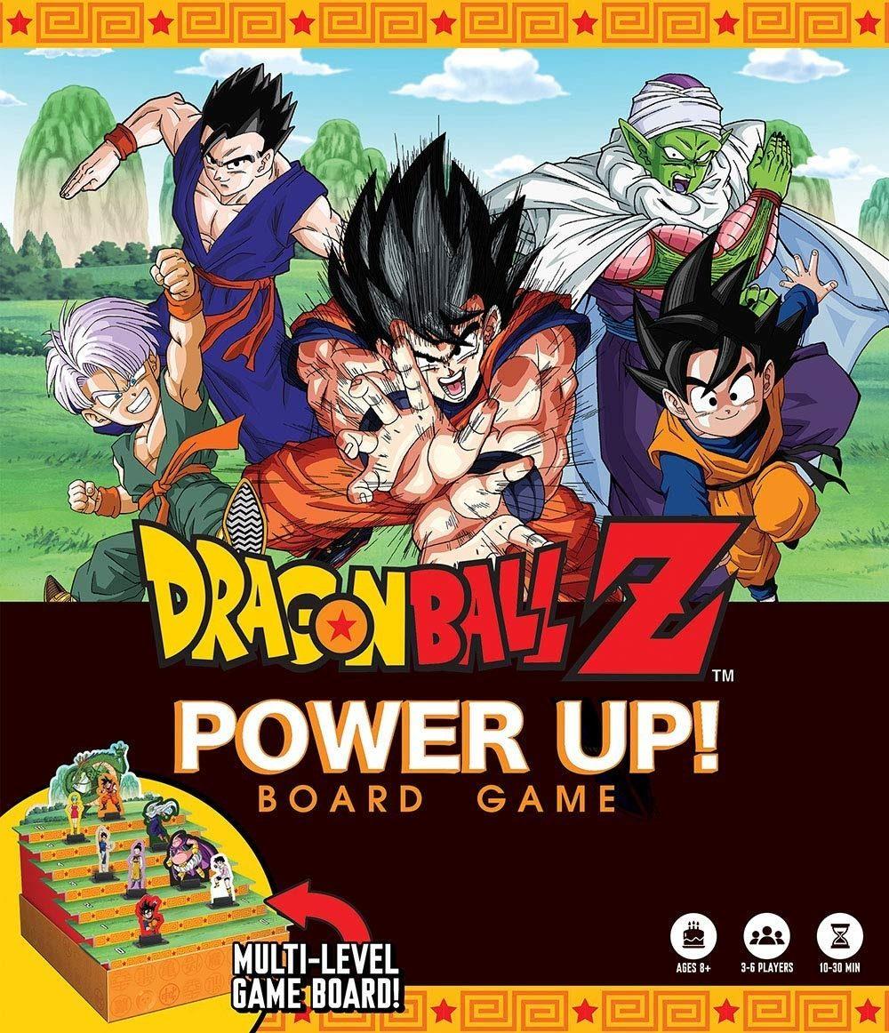 Juego De Mesa Dragon Ball Z Power Up Board Game Coleccion