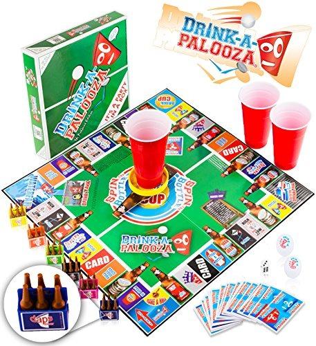 Juego De Mesa Drink A Palooza Juegos De Beber Para Adultos