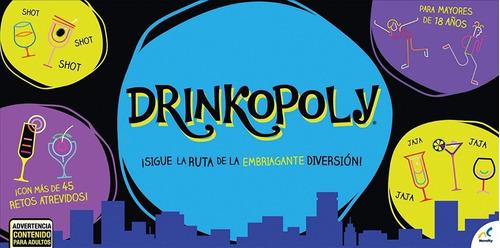 juego de mesa drinkopoly ruta embriagante novelty jca-1662