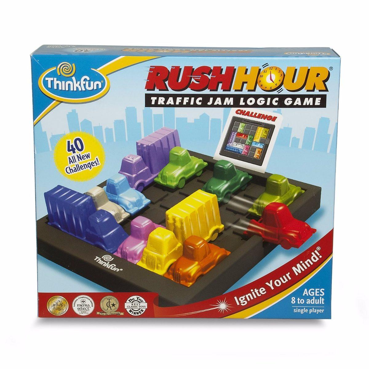 Juego De Mesa Educativo Carritos Rush Hour Trafico Thinkfun