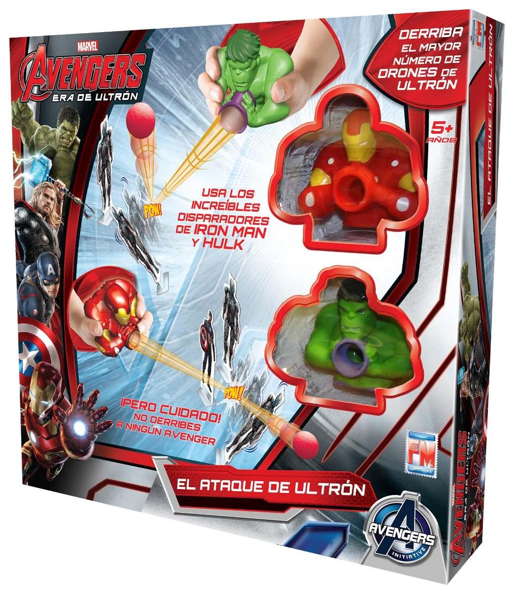 Juego De Mesa El Ataque De Ultron Avengers Marvel Fotorama