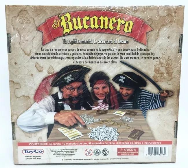 Juego De Mesa El Bucanero 461 00 En Mercado Libre