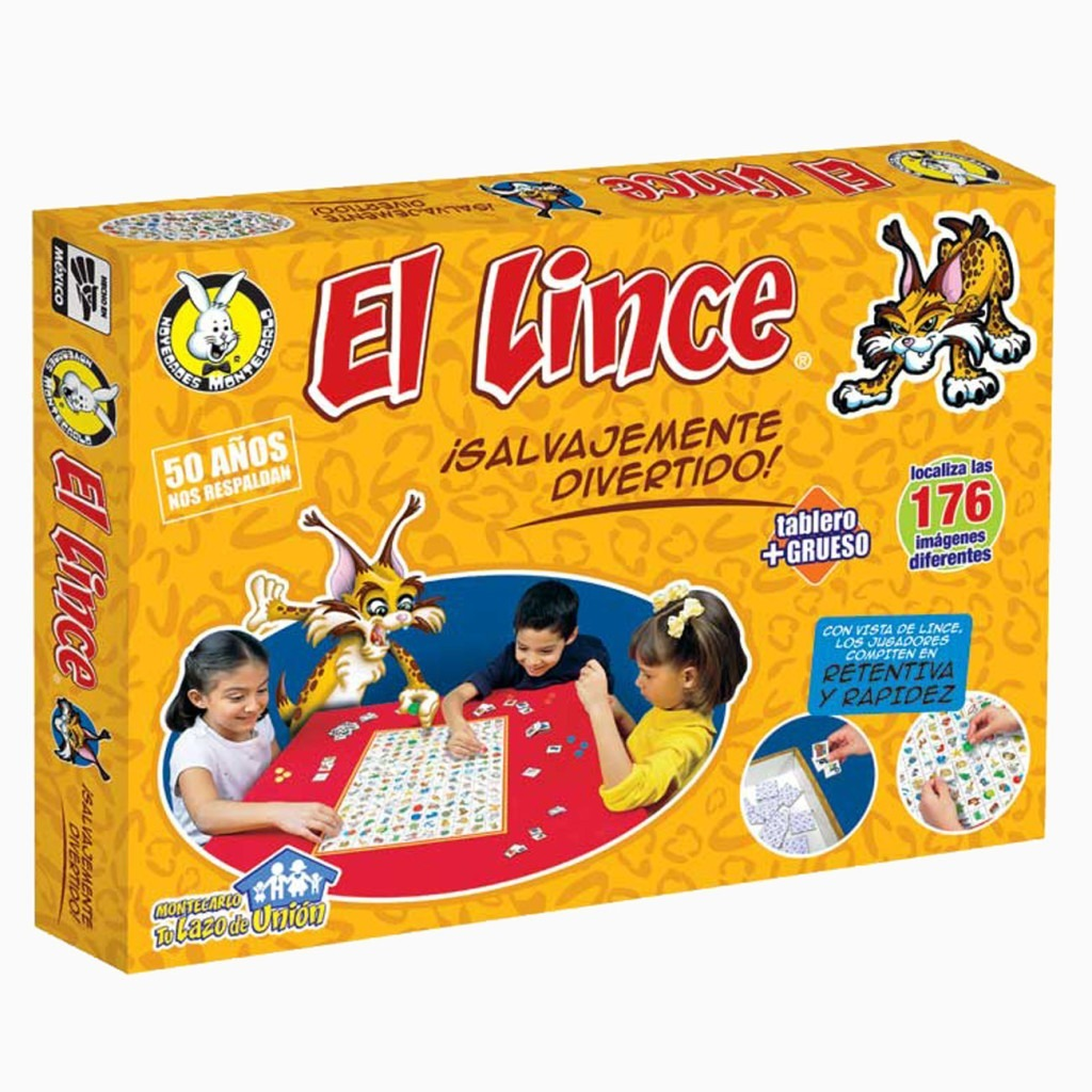 Juego De Mesa El Lince 130 00 En Mercado Libre
