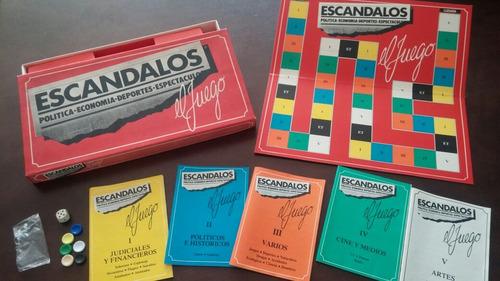 juego de mesa : escandalos!!!!