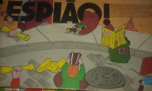juego de mesa espiao. desconozco si esta completo.de brasil.