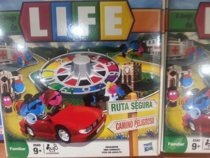 Juego De Mesa Familiar Life Para Ninos 9 Hasbro Original Bs 68