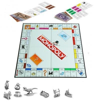 Hasbro Gaming Juego De Mesa Monopoly Clasico C1009