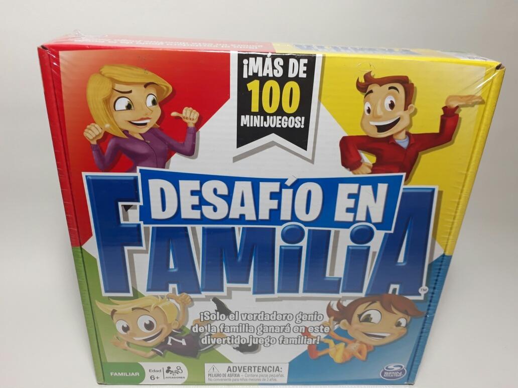 Juego De Mesa Familiar Reto En Familia Mas De 100 Juegos