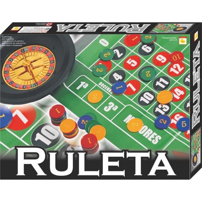 Juego De Mesa Familiar Ruleta Clasico Yuyu 2176 460 00 En