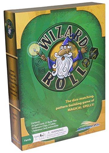 Juego De Mesa Familiar Wizard Roll Unir Formas Usando Dados