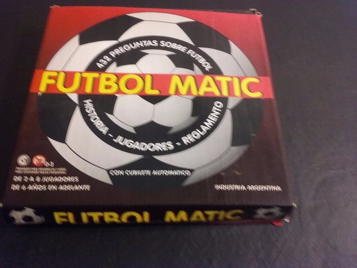 Juego De Mesa Futbol Matic Preguntas Y Respuestas 220 00 En