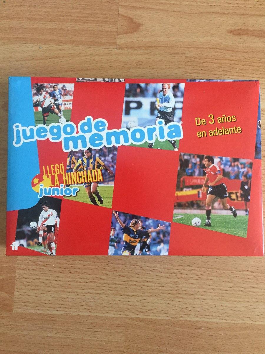 Juego De Mesa Futbol Memoria Llego La Hinchada Retro 420 00 En