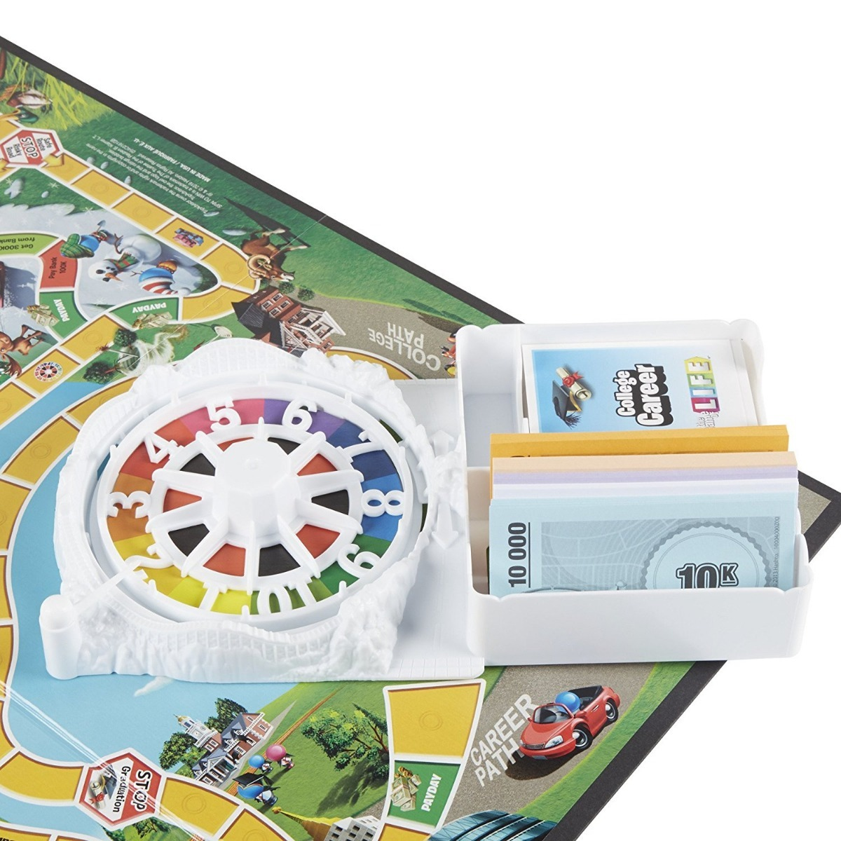 Juego De Mesa Game Of Life Board Game Nuevo Ingles Dhl