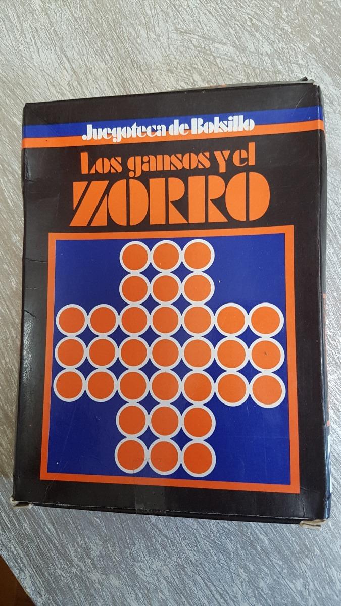 Juego De Mesa Gansos Y Zorro Retro 80 Kipos Yetem Teg 140 00