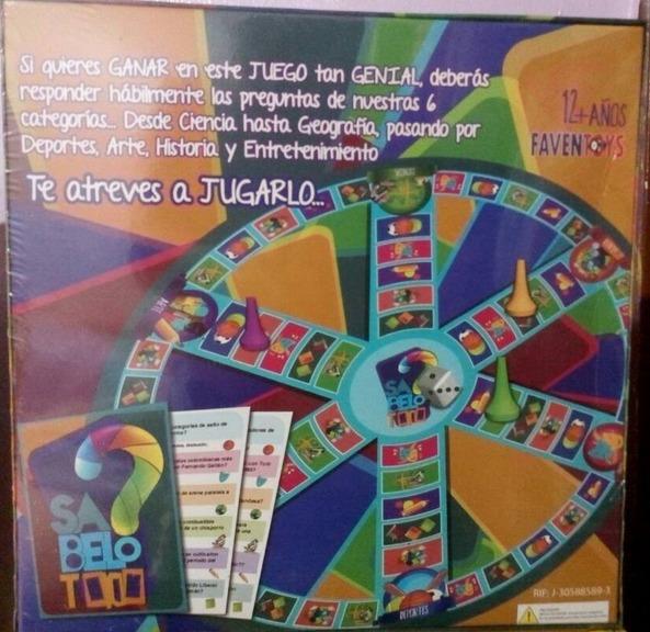 Juego De Mesa Genios Divertidos Bs 56 700 00 En Mercado Libre