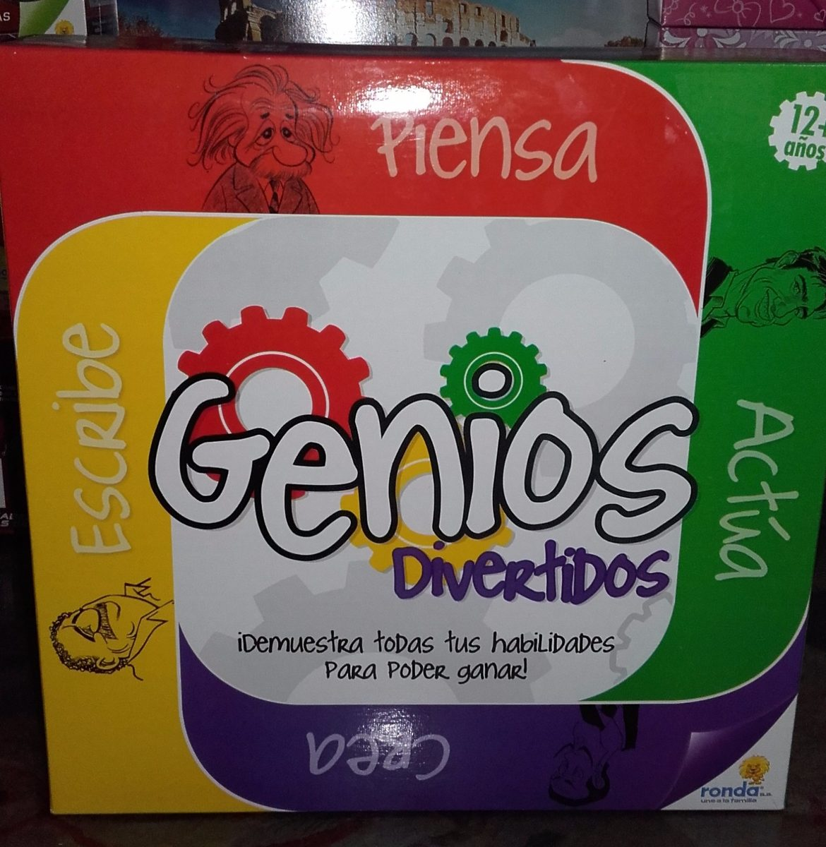 Juego De Mesa Genios Divertidos Ronda Original Bs 0 08 En Mercado