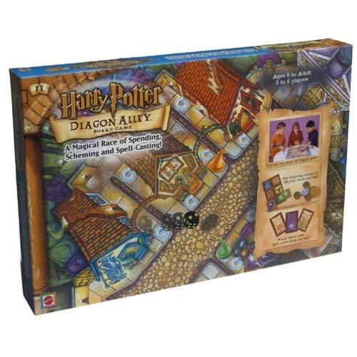 Juego De Mesa Harry Potter Diagon Alley 128 990 En Mercado Libre