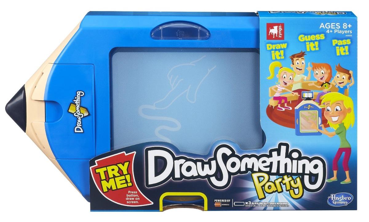 Juego De Mesa Hasbro Dibujar Algo Azul 160 211 En Mercado Libre