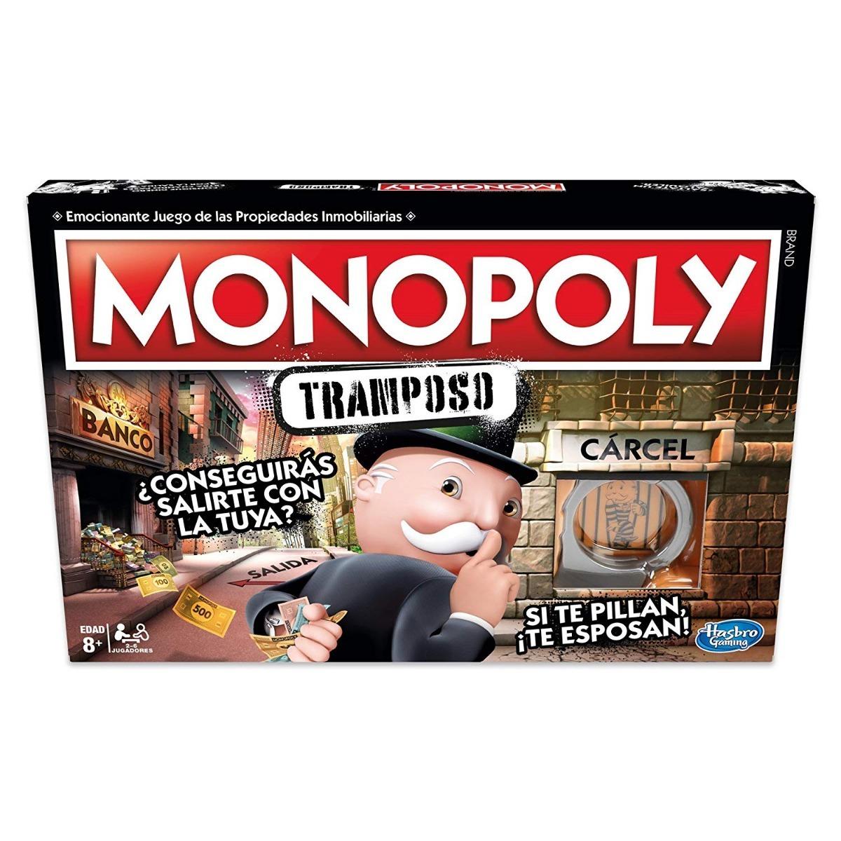 Juego De Mesa Hasbro Gaming Monopoly Cheaters Tramposo 4x
