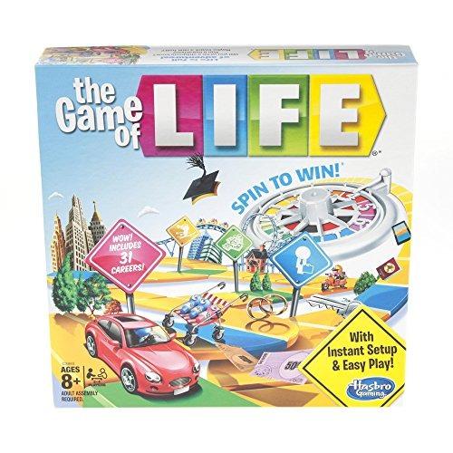 Juego De Mesa Hasbro The Game Of Life Board 148 900 En Mercado Libre