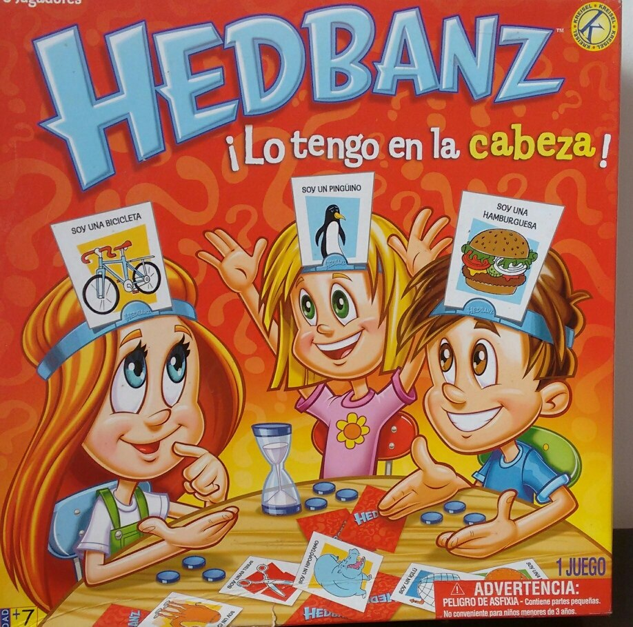 Juego De Mesa Hedbanz Kreisel Bs 2 25 En Mercado Libre