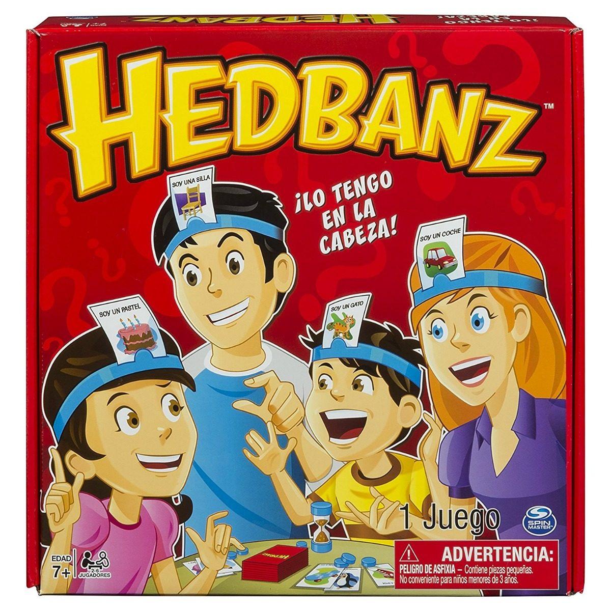 Juego De Mesa Hedbanz Lo Tengo En La Cabeza 299 00 En Mercado