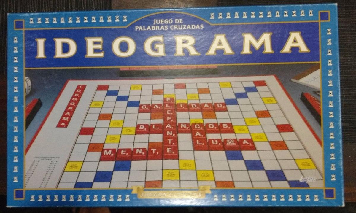 Juego De Mesa Ideograma Palabras Cruzadas 350 00 En Mercado Libre
