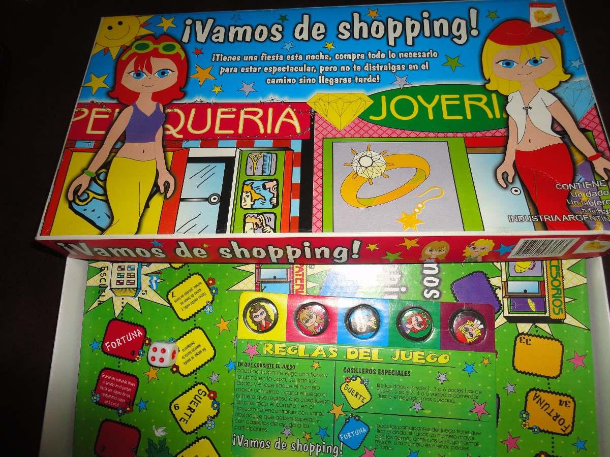 Juego De Mesa Infantil Vamos De Shopping 150 00 En Mercado Libre