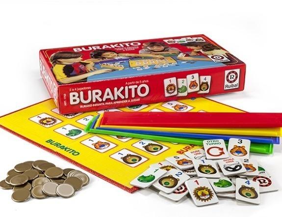 Juego De Mesa Infantil Y Familiar Burakito Ruibal 84572 595 00