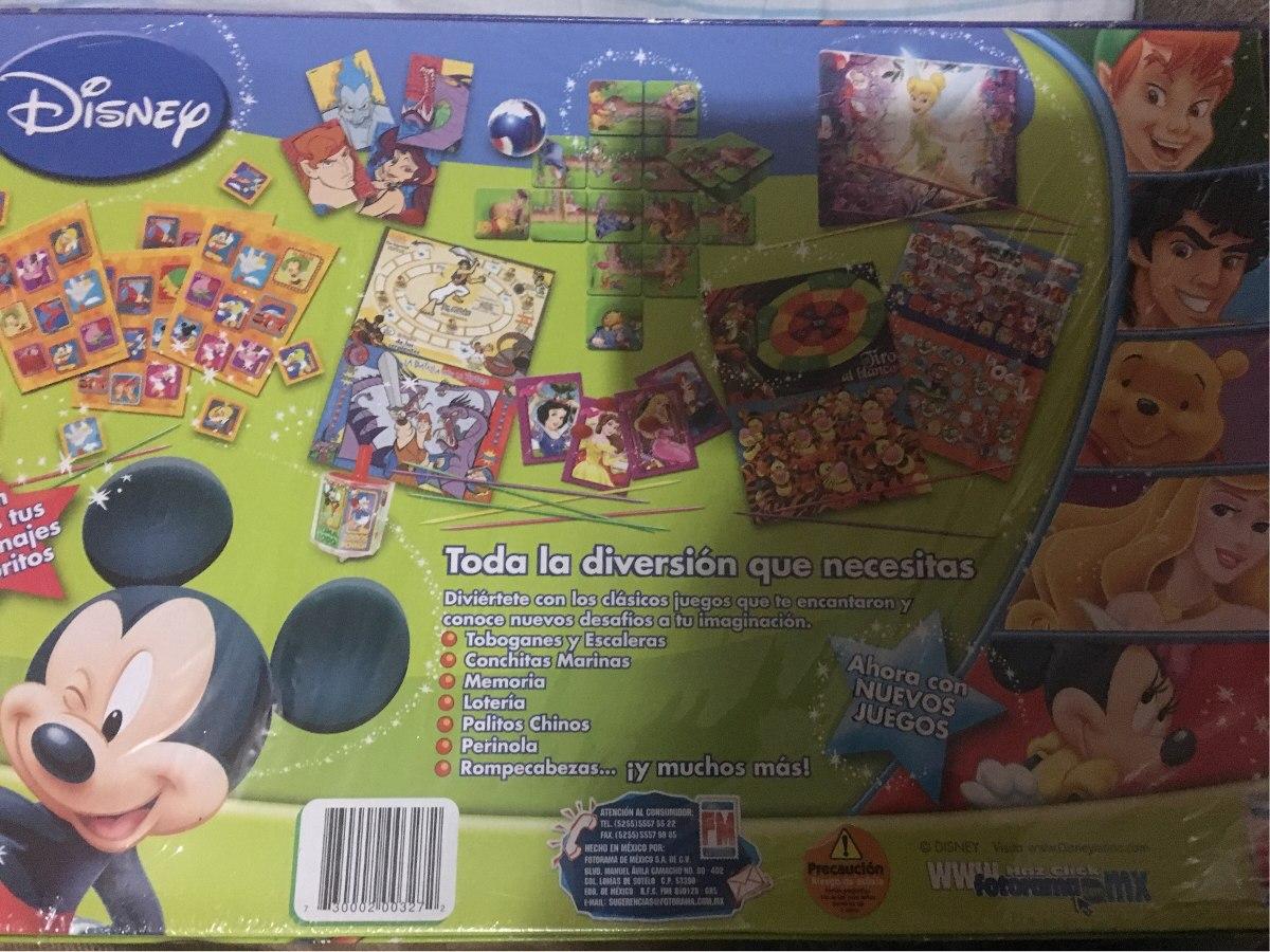 Juego De Mesa Juegos 20 Tv Disney 370 00 En Mercado Libre