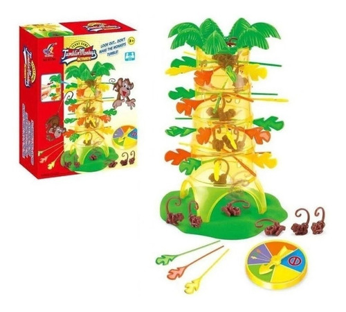 juego de mesa jumblin monkeys simil monkey loco