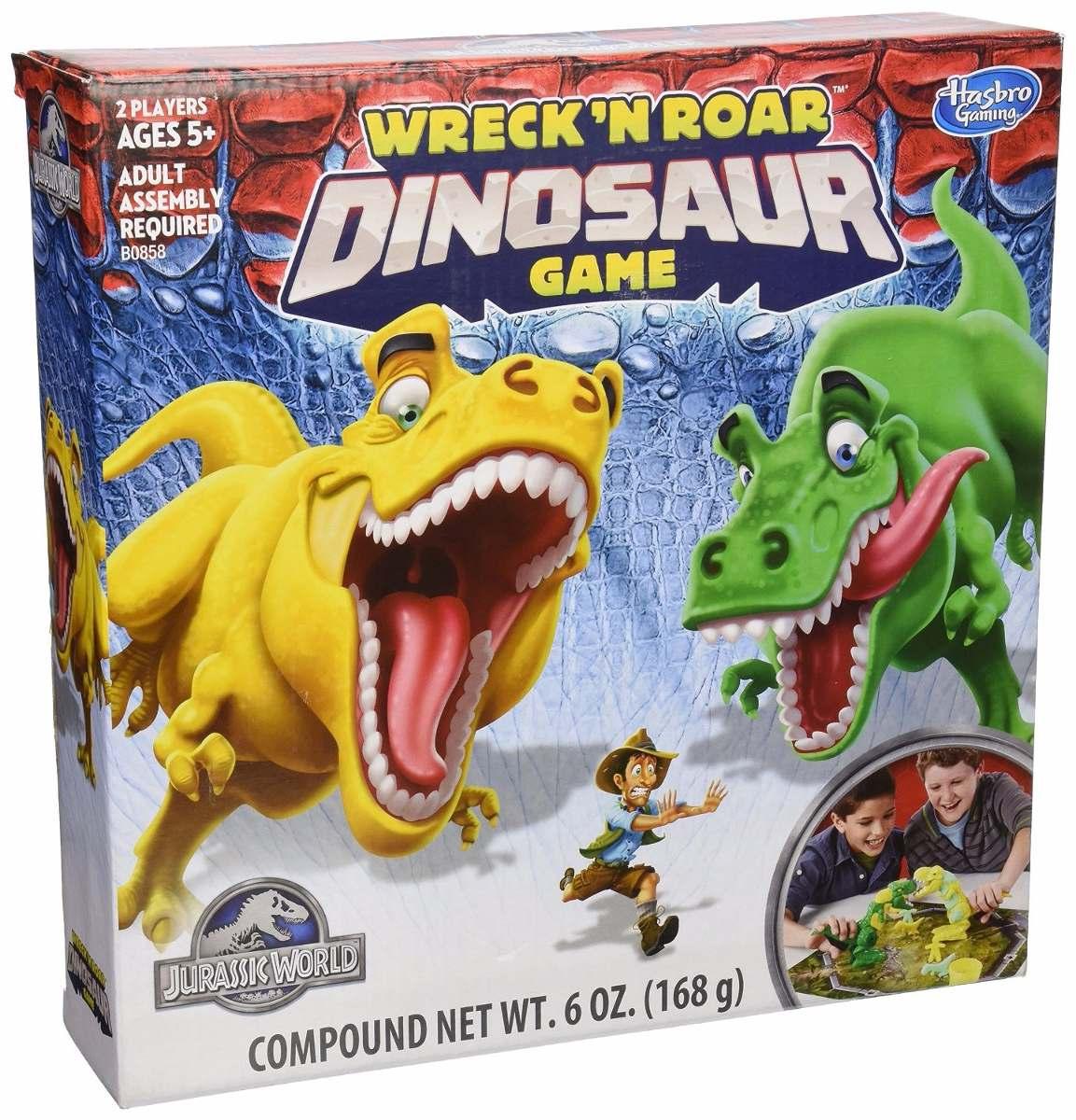 Juego De Mesa Jurassic World 895 00 En Mercado Libre