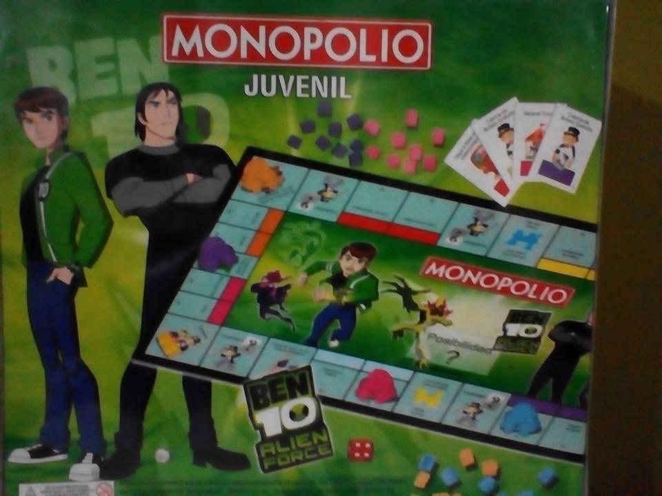 Juego De Mesa Juvenil Monopolio De Ben 10 Bs 38 000 00 En Mercado