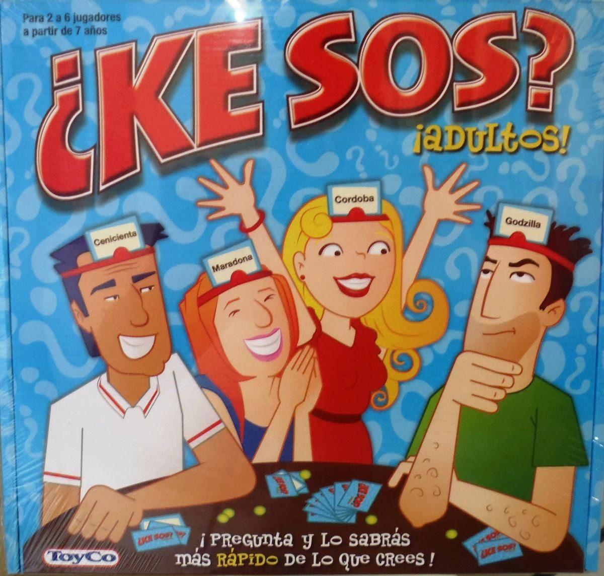 Juego De Mesa ¿ke Sos? Adultos Toyco Entregas Gratis En Caba - $ 414 ...