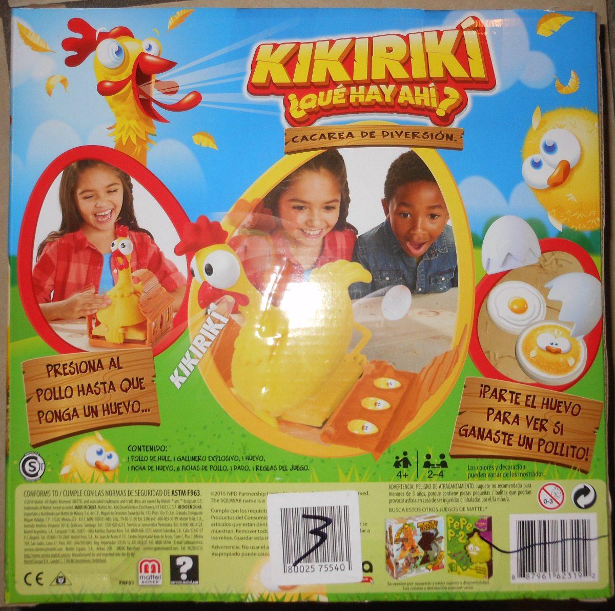 Juego De Mesa Kikiriki Que Hay Ahi 549 00 En Mercado Libre
